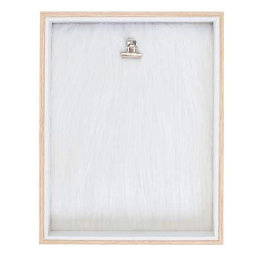 Porta Retrato Clip Plush Branco - Uatt