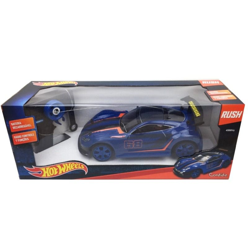 Rush Hot Wheels Bat Recarregável - Candide