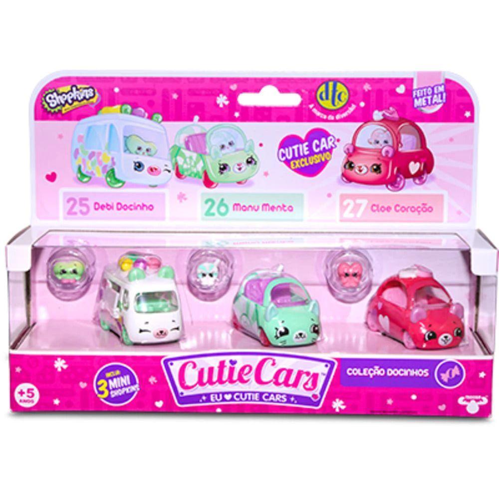 Shopkins Cutie Cars Kit Com 3