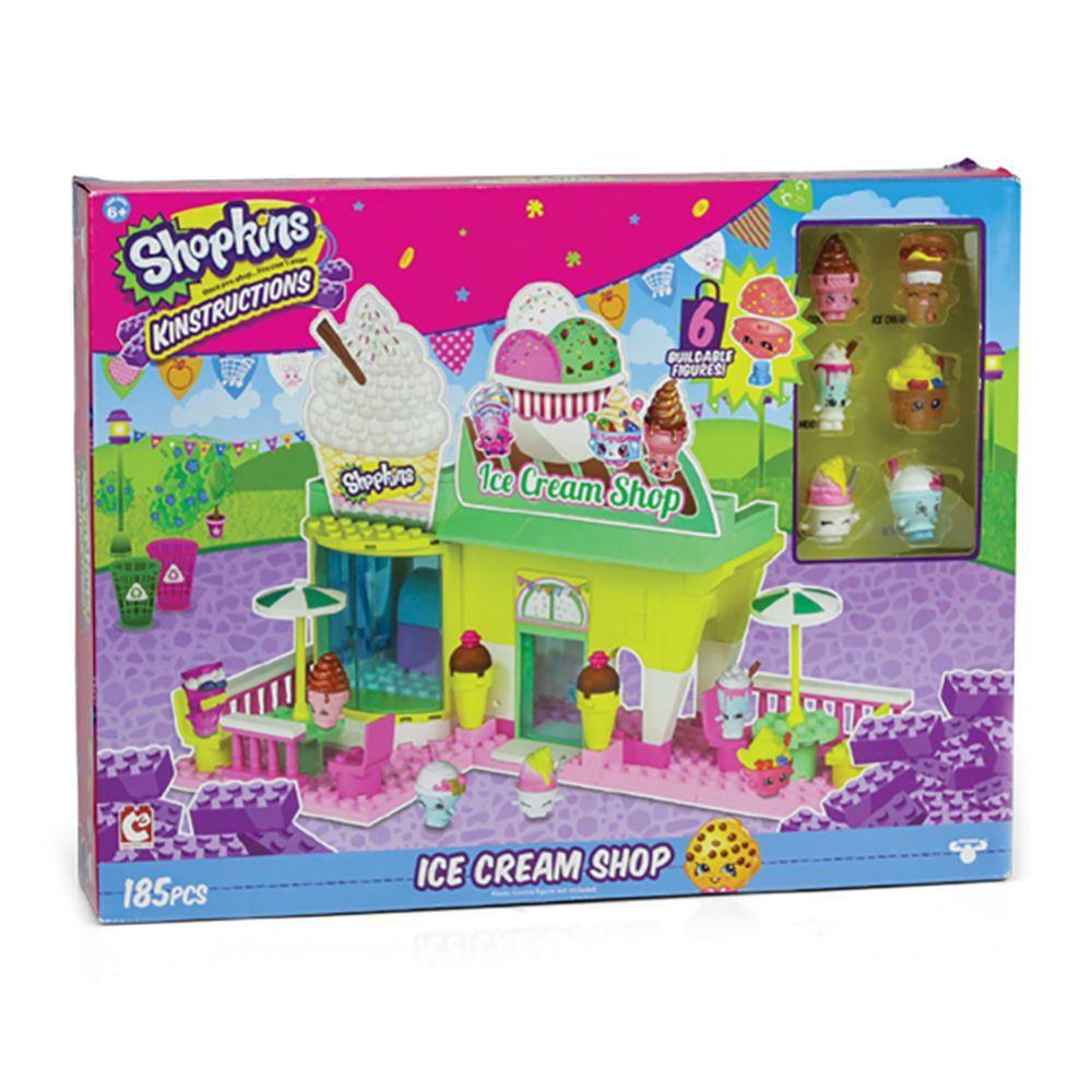 Shopkins Kinstruction Ice Cream Shop