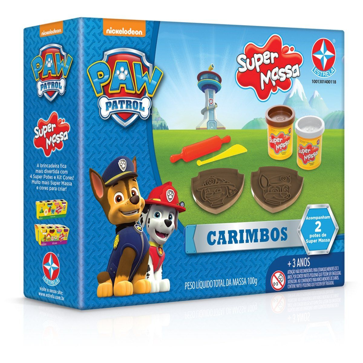 Super Massa Carimbos Patrulha Canina - Estrela