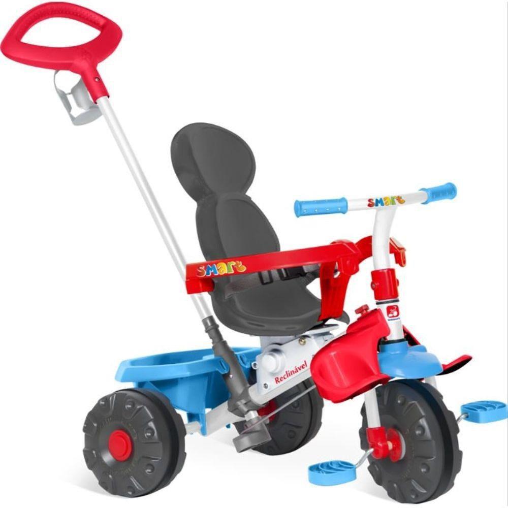Triciclo Smart Reclinável - Bandeirante