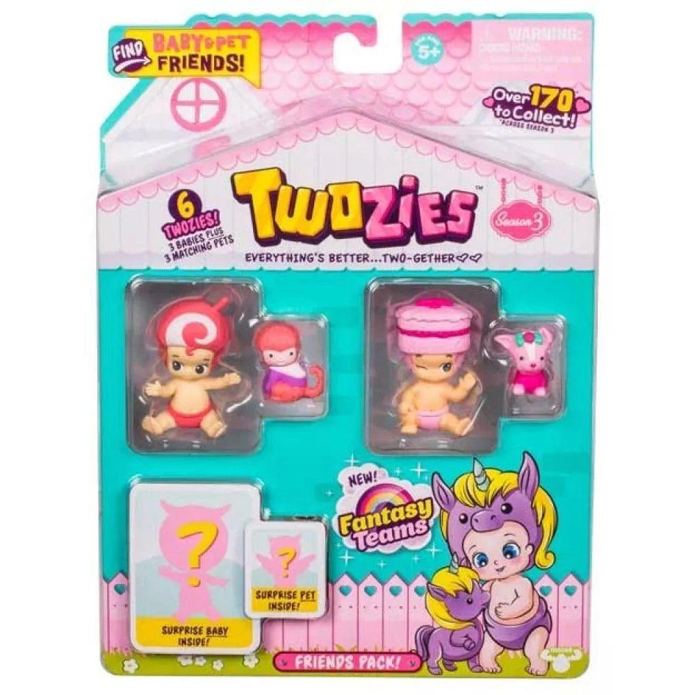 Twozies - Friends Pack com 6 Figuras - DTC