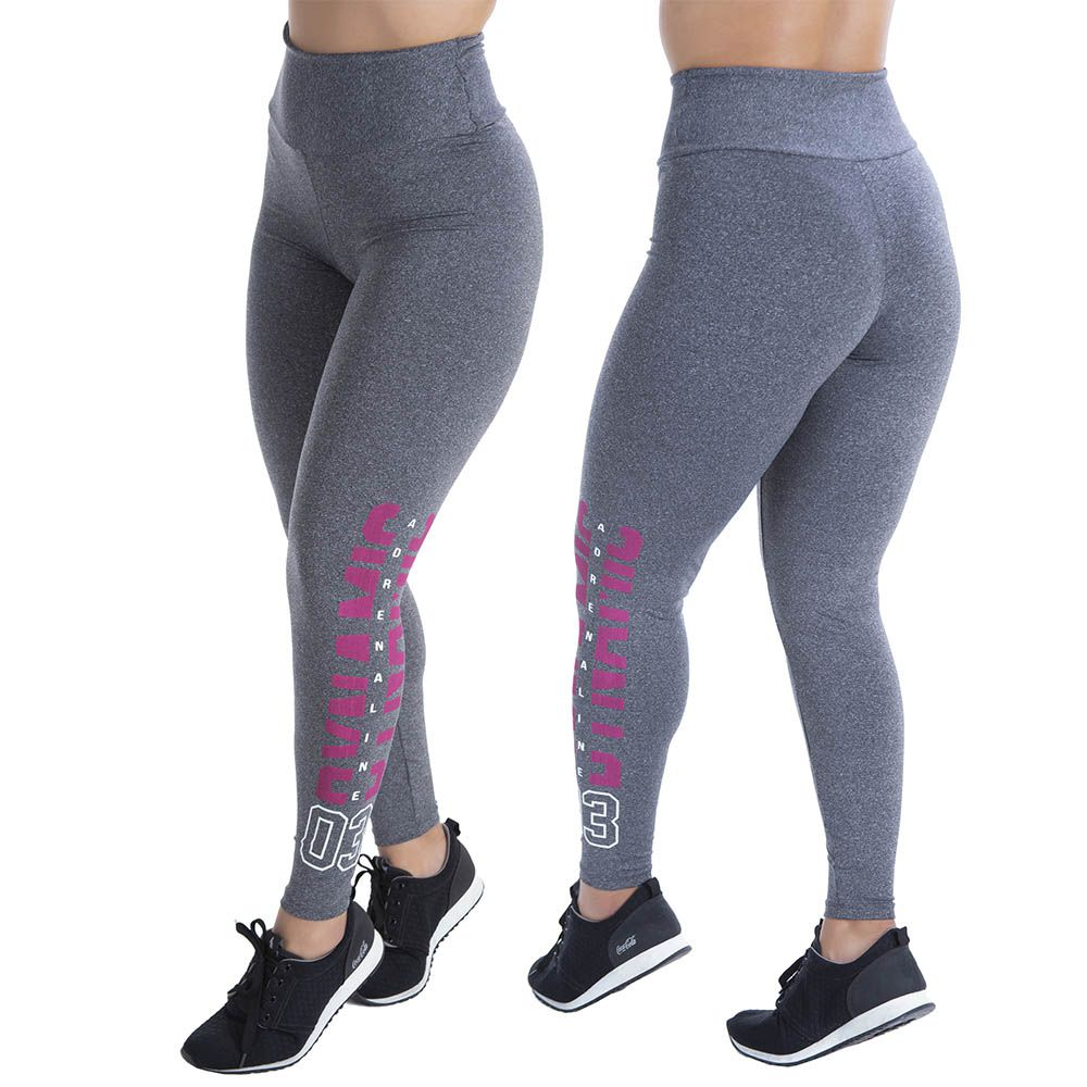 CALÇA LEGGING SILK DYNAMIC ADRENALINE