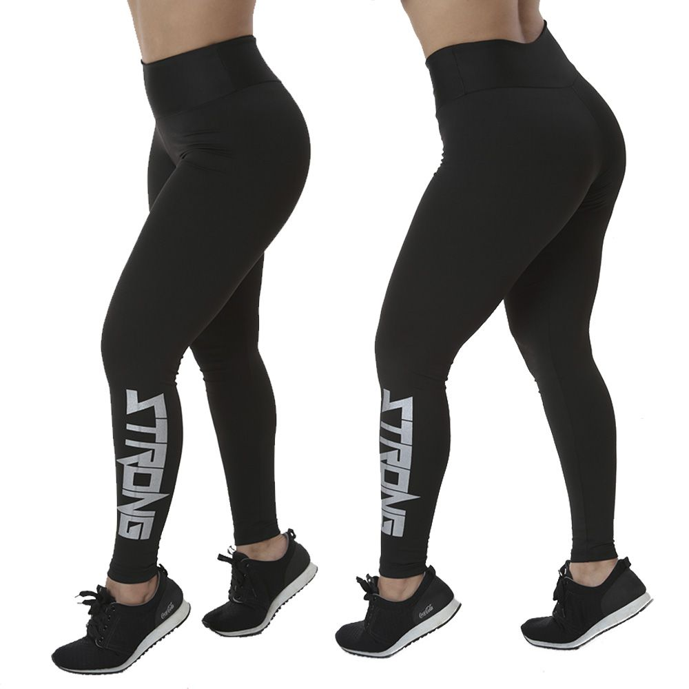 CALÇA LEGGING SILK STRONG