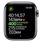 Apple Watch SE, Novo 44mm, Alumínio Preto