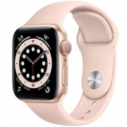 Apple Watch Series 2, Seminovo 38mm, Alumínio Dourado