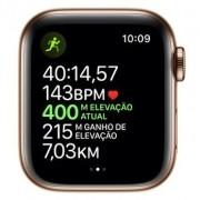 Apple Watch Series 4 - Seminovo 40 mm - Caixa de Alumínio Dourado