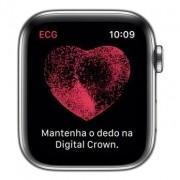 Apple Watch Series 5, Seminovo 44mm, Alumínio Prata