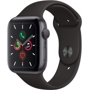Apple Watch Series 5, Seminovo 44mm, Alumínio Preto