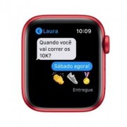 Apple Watch Series 6, Novo 40 mm, Alumínio Vermelho