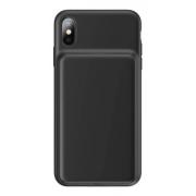 Capa Carregadora Baseus Slint Preta Compatível iPhone XS Max