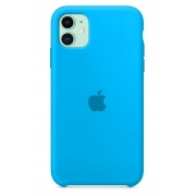 Capa Colorida de Silicone Compatível com iPhone 11