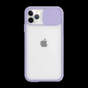 Capa Com Proteção Para Câmera lilás Compatível com iPhone 12 Pro