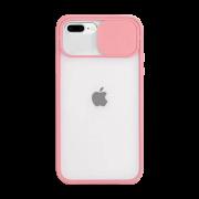 Capa Com Proteção Para Câmera Rose Compatível com iPhone 7