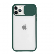 Capa Com Proteção Para Câmera Verde Escuro Compatível com  iPhone 11 Pro Max