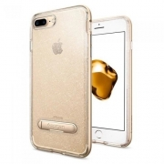 Capa Crystal Hybrid Glitter Compatível com iPhone 7/8 Plus