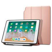 Capa para iPad 9.7 Smart Fold 2 Rose Gold