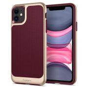 Capa para iPhone 11 Spigen Neo Hybrid Burgundy