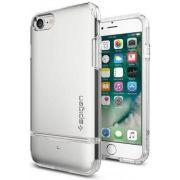 Capa para iPhone 7 Flip Armor Spigen Satin Silver
