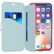 Capa Para iPhone X Tech21 Evo Wallet Rosa