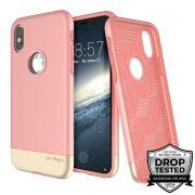 Capa Prodigee Fit Pro Rose Gold Compatível com iPhone X/XS