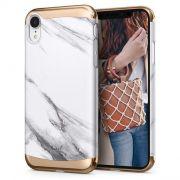 Capa para iPhone XR Ciel White Marble