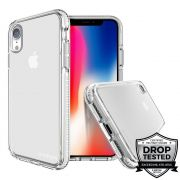 Capa para iPhone XR Safetee Steel White