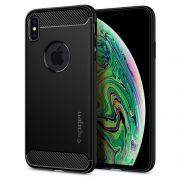 Capa para iPhone XS Max Rugged Armor Black