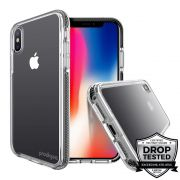 Capa para iPhone XS Max Safetee Steel Black