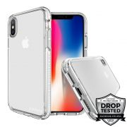 Capa para iPhone XS Max Safetee Steel White