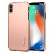 Capa Para iPhone XS Max Thin Fit Spigen Blush Gold