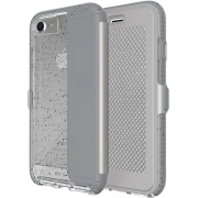 Capa Tech21 Evo Wallet Active Edition cinza Compatível com iPhone 7/8