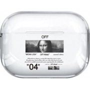 Case AirPods Pro Off-White Monalisa