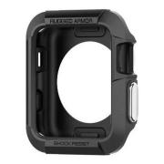 Case Spigen Para Apple Watch 6/SE/5/4 40mm Rugged Armor Preta