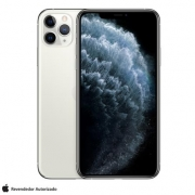 iPhone 11 Pro Max, Seminovo 64 GB, Prata