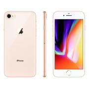 iPhone 8,  Novo 128 GB, Dourado