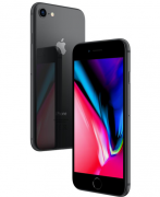 iPhone 8, Seminovo 64 GB, Preto