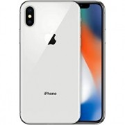 iPhone X, Seminovo 256 GB, Prata
