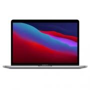 MacBook Pro Prata Seminovo, 128GB SSD e 8GB Ram, com Touch Bar (13