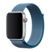 Pulseira Azul Aceshley Para Apple Watch - Velcro (42/44mm)