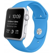 Pulseira de Silicose Azul Para Apple Watch (42/44mm)