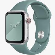 Pulseira de Silicose Verde Militar Para Apple Watch (38/40mm)