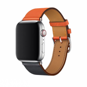 Pulseira Hermes Orange Craie 38/40mm