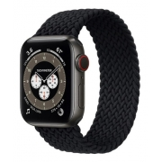 Pulseira LOOP Nylon Trançado Black 42/44mm M
