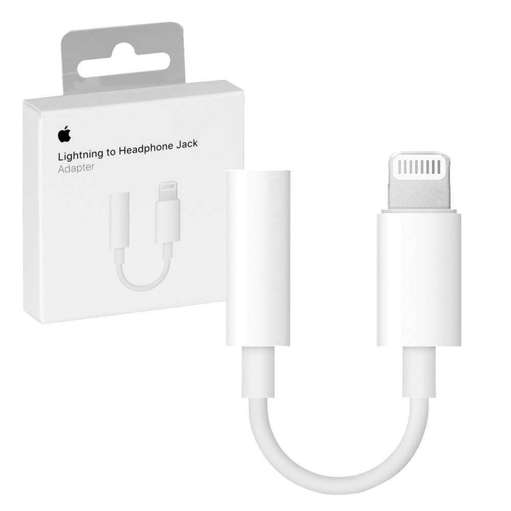 Adaptador de Lightning para conector de fones de ouvido de 3,5 mm