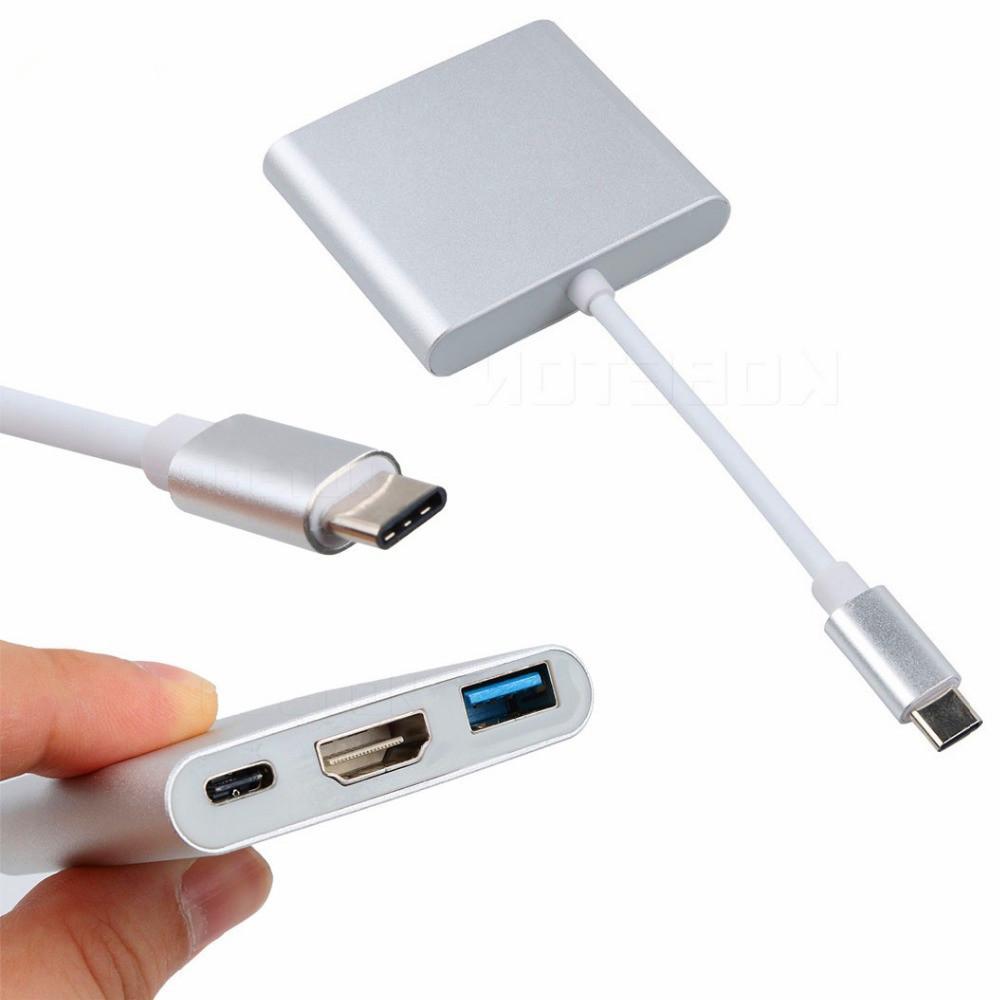 Adaptador Hub Tipo C - HDMI + USB