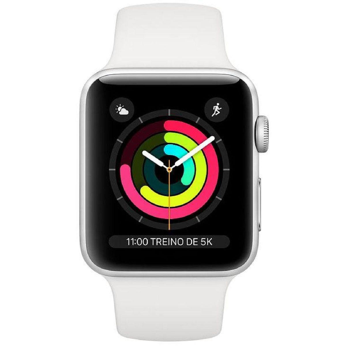 Apple Watch Series 4, Seminovo 44mm, Alumínio Prata