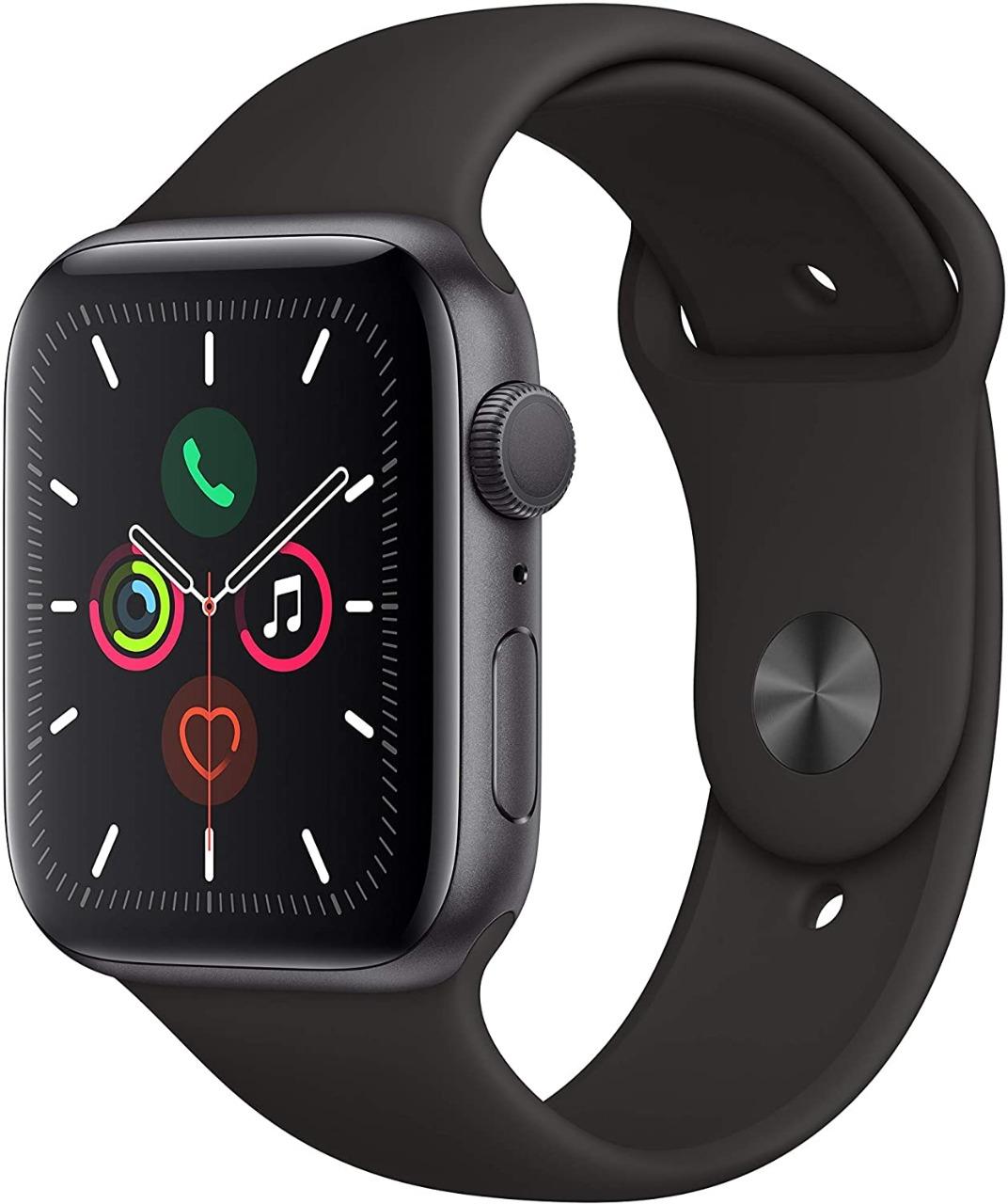 Apple Watch Series 5, Seminovo 44mm, Alumínio Preto