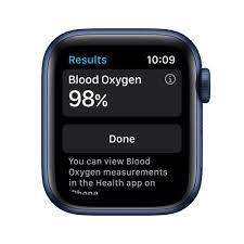 Apple Watch Series 6, Novo 40 mm, Alumínio Azul